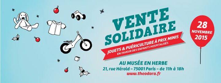 vente solidaire jouets puériculture