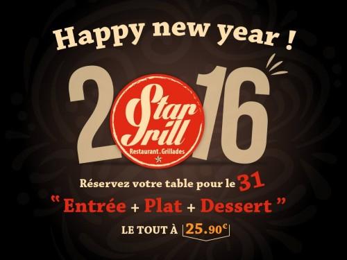 Menu Nouvel An 2016 Stragrill