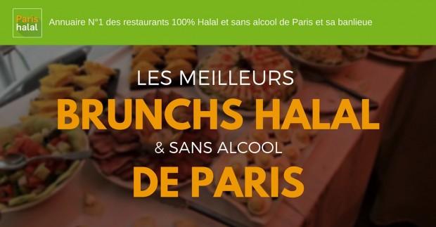 les meilleurs brunchs halal de Paris
