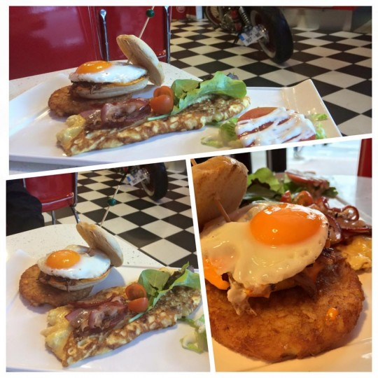 LA's Diner & Coffee Nanterre Brunch halal