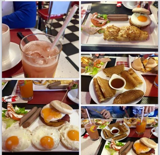 Brunch Halal LA's Diner & Coffee Nanterre