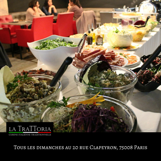 Brunch Halal La Trattoria Paris