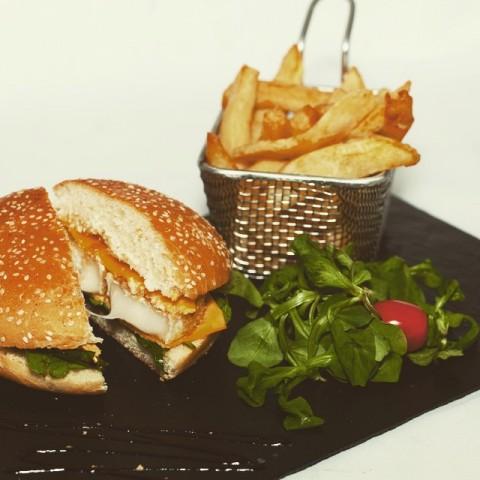 Burger Chèvre Instagram Les Charlots