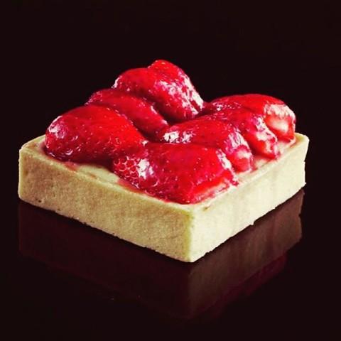 Tartes aux fraises Instagram Les Charlots