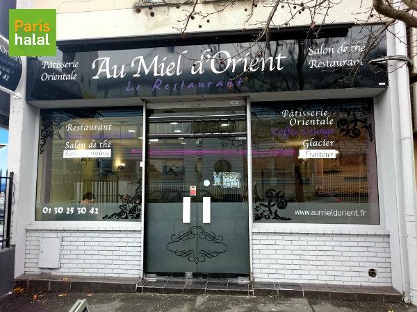 Façade Au Miel d'Orient Argenteuil