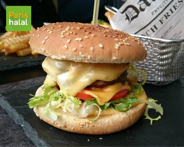 Burger Gorgonzola Au Miel d'Orient