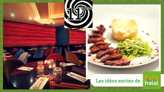 onzième, restaurant, halal, islam, famille, sortie, Paris, enfant, musulman, barbie, musée, plats, cuisine française, cuisine italienne