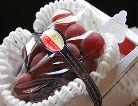 les fruits les plus chers du monde raisin roman ruby