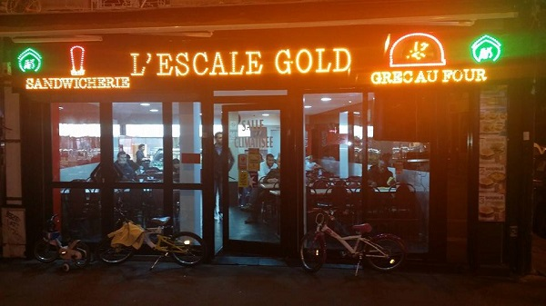 Escale Gold Fast Food Halal à Saint Denis