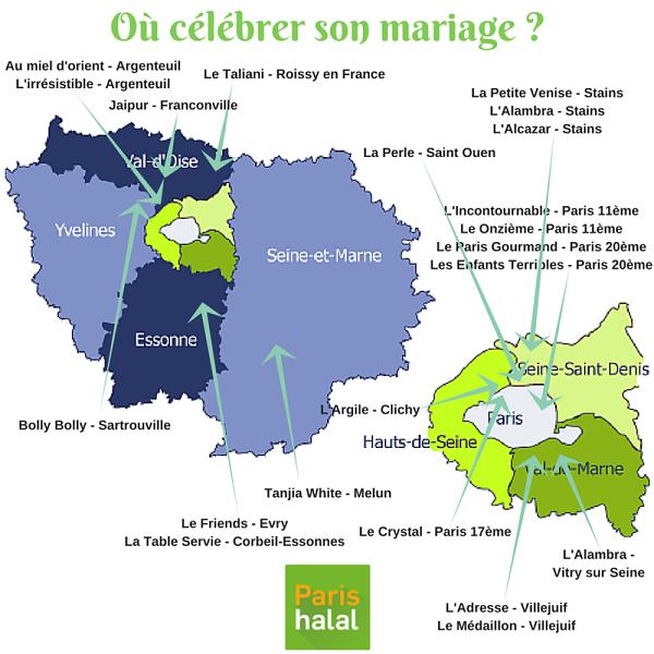 Où célébrer son mariage