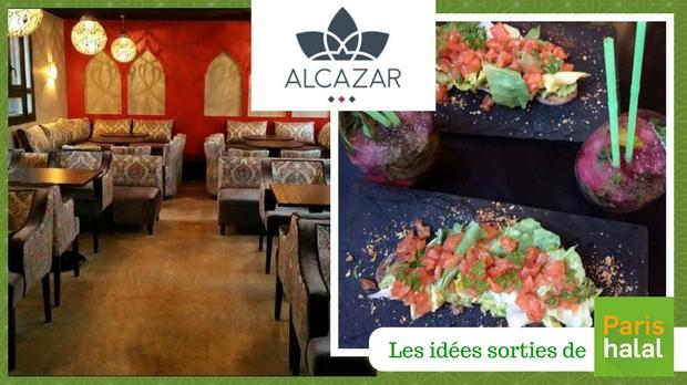 restaurant, sortie, aquarium, repas, espagnol, halal