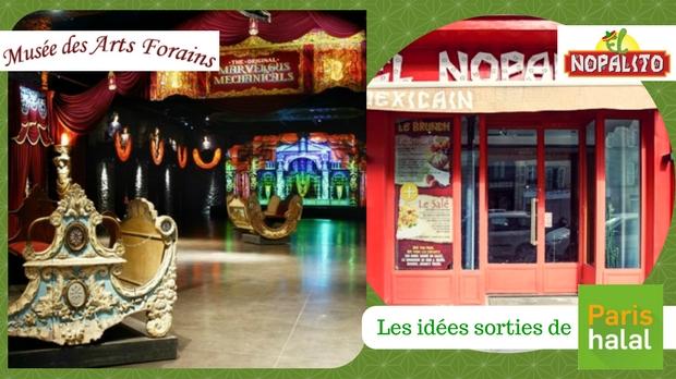 Arts Forains, que faire avec les enfants, Vacances toussaint, Paris, halal, restaurant,