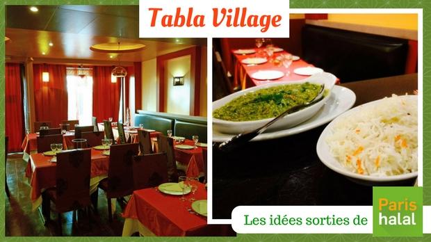 Tabla village, restaurant indien, gastronomie, halal, hallal,