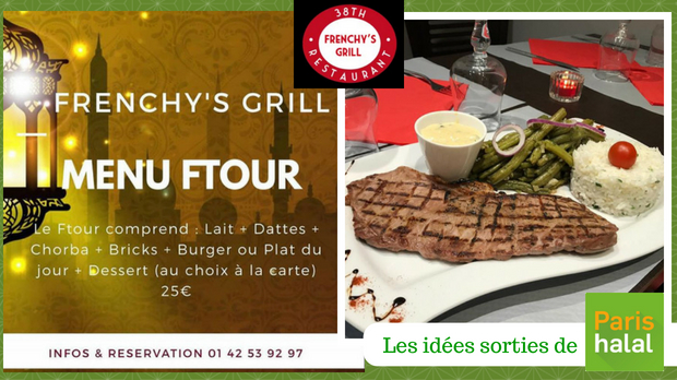codage, frenchy's grill, ramadan, restaurant, ftour