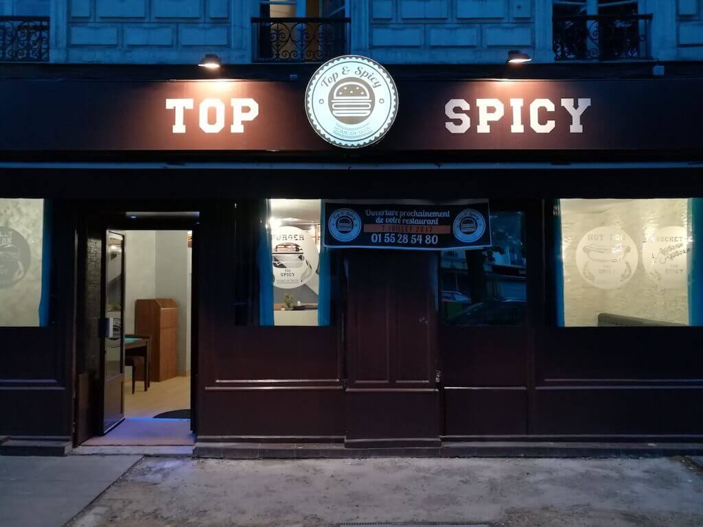 Top & spicy