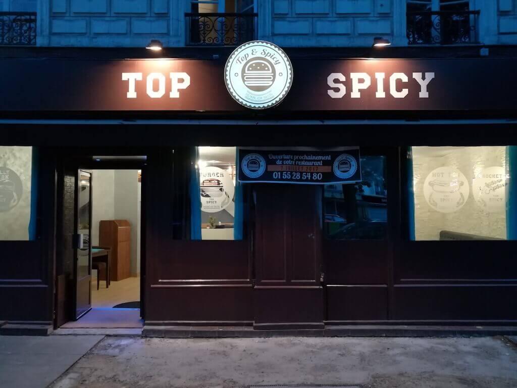 Top & spicy