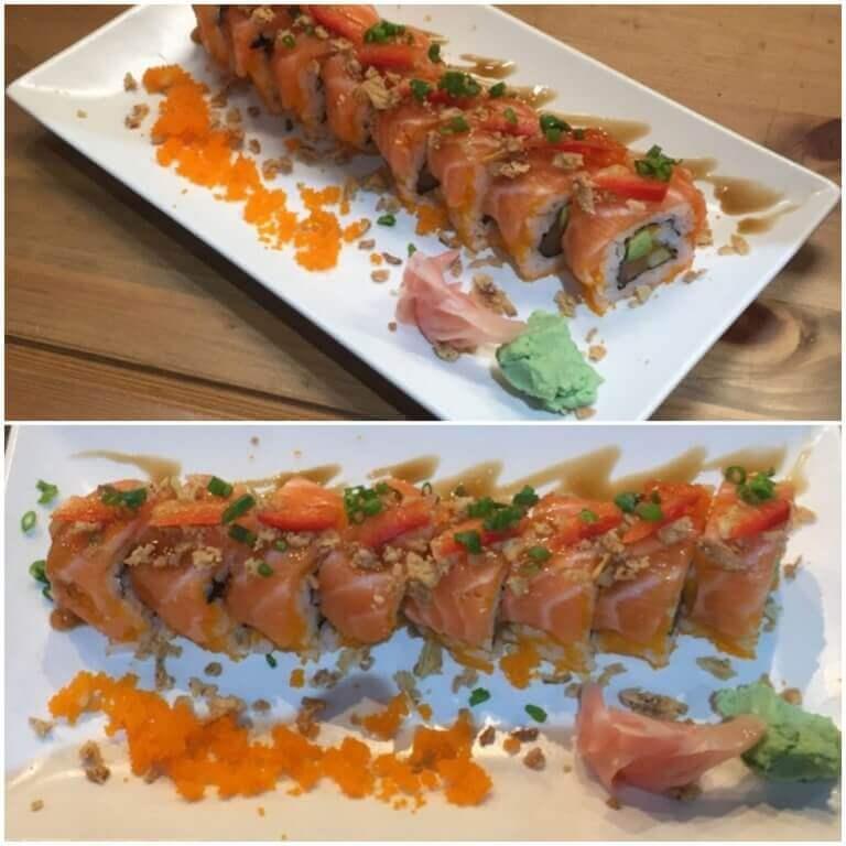 Sushi thaï