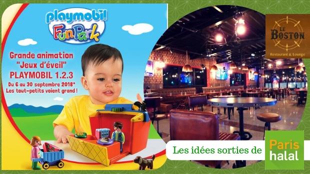 enfant jeu, bébé, occuper, petits, playmobil, restaurant, halal