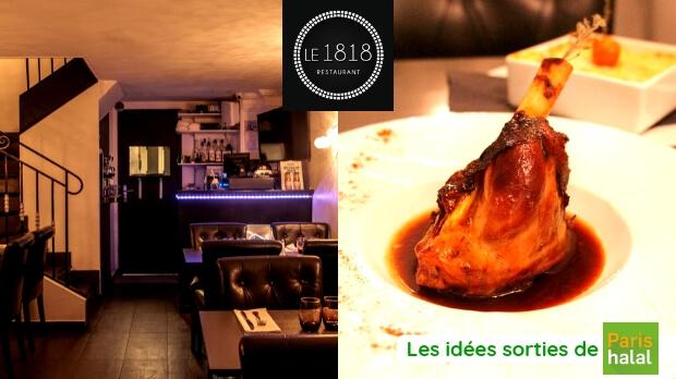 restaurant, halal, sortie, cuisine française, délicieux, ramadan, ftour, menu