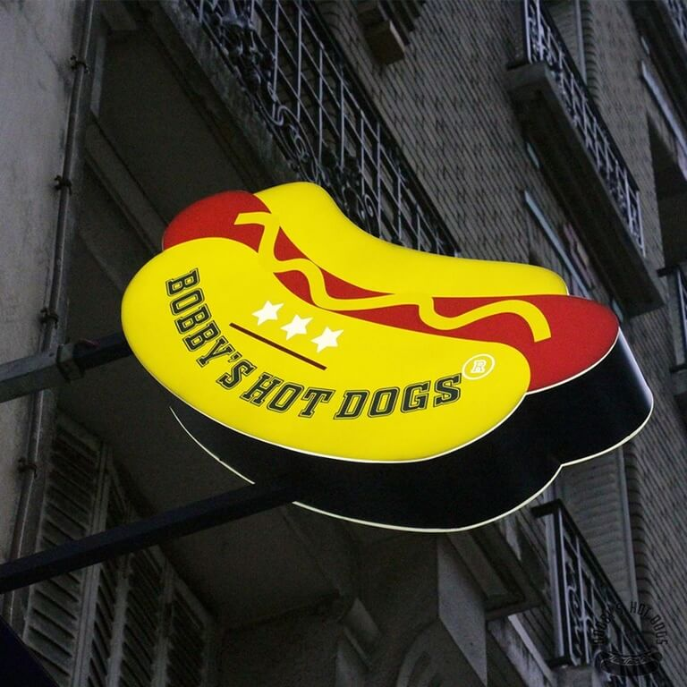 Bobby's hot-dog