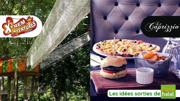 Sortie, ramadan, occuper les enfants, banlieue, cergy, restaurant halal, quoi faire à Paris, famille, sport