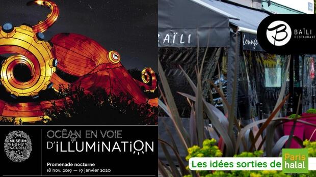 Sortie en famille, nuit, poissons, idéale, enfants, petits, que faire à Paris, restaurant halal, paris